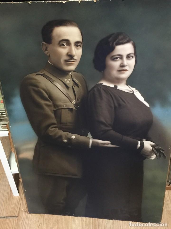 GRAN FOTOGRAFIA OFICIAL CABALLERIA REPUBLICA (Militar - Fotografía Militar - Guerra Civil Española)