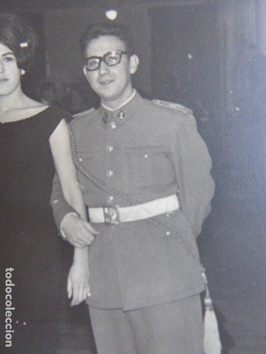 FOTOGRAFÍA TENIENTE DEL EJÉRCITO ESPAÑOL. SEGOVIA 1964 (Militar - Fotografía Militar - Otros)