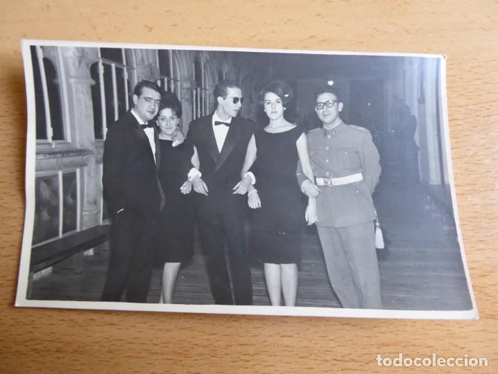 Militaria: Fotografía teniente del ejército español. Segovia 1964 - Foto 2 - 176277143