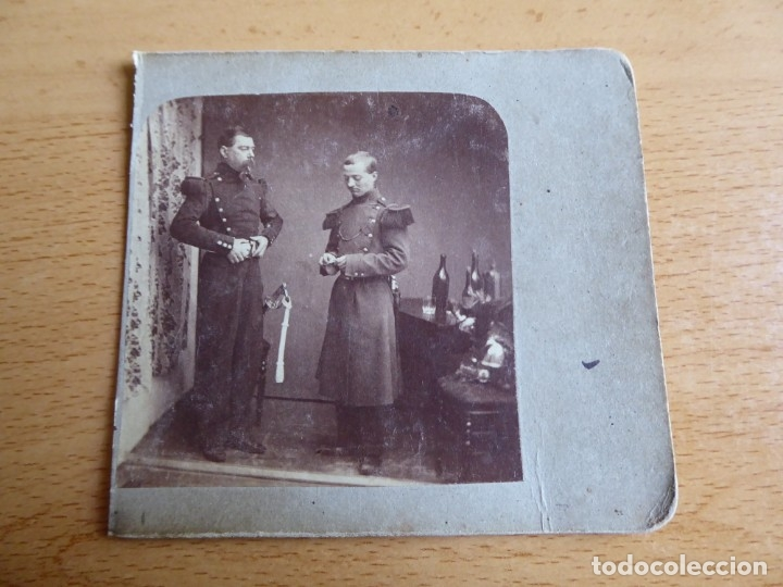 Militaria: Fotografía soldados del ejército español. Siglo XIX - Foto 2 - 176277797