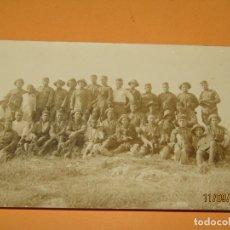 Militaria: ANTIGUA FOTOGRAFÍA ORIGINAL CAMPAÑA DEL RIF O DE MELILLA - AÑO 1920S.. Lote 176278984