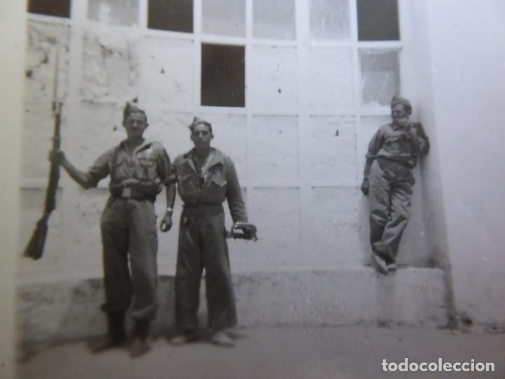 FOTOGRAFÍA SOLDADO CORNETA DEL EJÉRCITO ESPAÑOL. (Militar - Fotografía Militar - Otros)