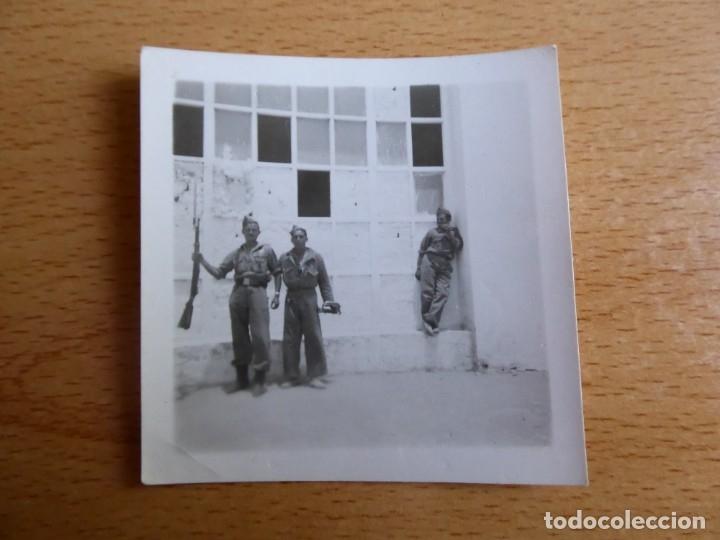 Militaria: Fotografía soldado corneta del ejército español. - Foto 2 - 176279082