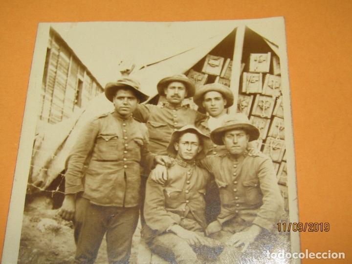 Militaria: Antigua Fotografía Original Campaña del RIF o de MELILLA - Año 1920s. - Foto 2 - 176279138