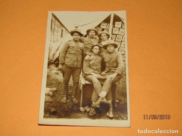 ANTIGUA FOTOGRAFÍA ORIGINAL CAMPAÑA DEL RIF O DE MELILLA - AÑO 1920S. (Militar - Fotografía Militar - Otros)