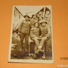 Militaria: ANTIGUA FOTOGRAFÍA ORIGINAL CAMPAÑA DEL RIF O DE MELILLA - AÑO 1920S.. Lote 176279138