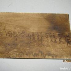 Militaria: ANTIGUA FOTOGRAFÍA ORIGINAL CAMPAÑA DEL RIF O DE MELILLA - AÑO 1924. Lote 176279250