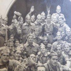 Militaria: FOTOGRAFÍA SOLDADOS DEL EJÉRCITO ESPAÑOL. SANTA CRUZ DE LA PALMA. Lote 176280499
