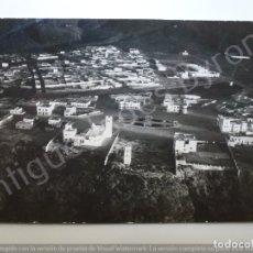 Militaria: FOTOGRAFÍA ANTIGUA ORIGINAL. SELLO AVIACIÓN MILITAR. SERVICIO FOTOGRÁFICO. SIDI IFNI. AÑO 1933. Lote 176341198