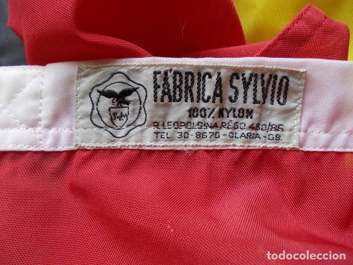 Militaria: Bandera de España Bordada con aguila 100% Nylon 128X190 - Foto 2 - 288574278