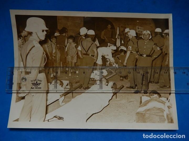 .FOTOGRAFÍA DE SOLDADOS DE LA CRUZ ROJA. (Militar - Fotografía Militar - Otros)