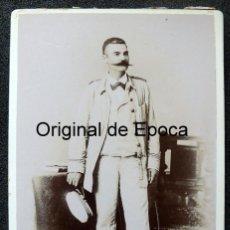 Militaria: (JX-190913)FOTOGRAFÍA DE OFICIAL DE MARINA ESPAÑOLA CON UNIFORME COLONIAL , SIGLO XIX .. Lote 176476168