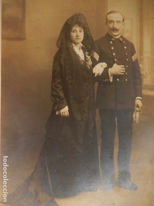 Militaria: Fotografía. Militar español. 1915. - Foto 2 - 176493870