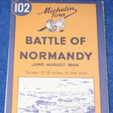 Militaria: BATTLE OF NORMANDY - BATALLA DE NORMANDÍA - MICHELIN TIRES Nº102 (1992). Lote 176681618