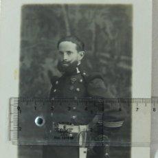 Militaria: FOTOGRAFÍA. MILITAR ESPAÑOL. INGENIEROS.. Lote 177061940