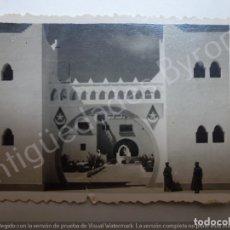 Militaria: FOTOGRAFÍA ANTIGUA ORIGINAL. SÁHARA. CUARTEL. Lote 177276810