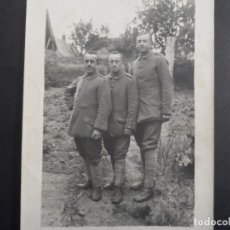 Militaria: 3 HERMANOS SOLDADOS IMPERIALES ALEMANES . II REICH. 28 MAYO 1917. Lote 177281942