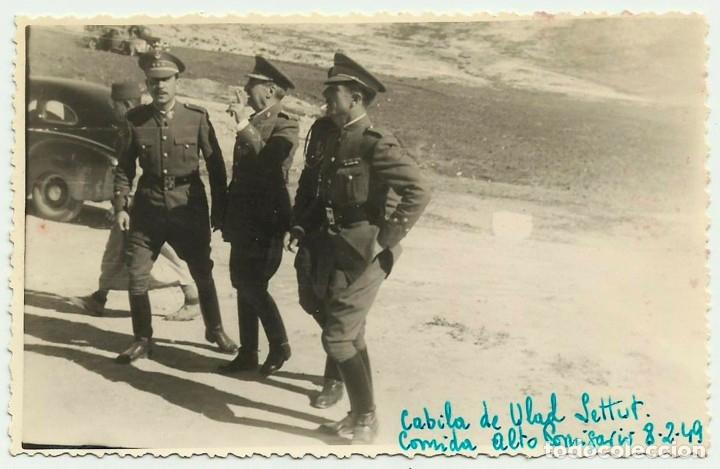 MARRUECOS ESPAÑOL. NADOR. ZELUAN. 1949. CABILA DE LOS ULAD SETTUT. LOTE 0050 (Militar - Fotografía Militar - Guerra Civil Española)
