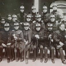 Militaria: MILITARES EN EL INTERIOR DE CAPITANÍA GENERAL DE VALLADOLID, ÉPOCA ALFONSO XIII. POSTAL FOTOGRÁFICA.. Lote 177413744
