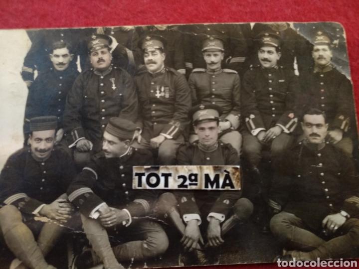 ANTIGUA FOTOGRAFÍA POSTAL MILITAR. (Militar - Fotografía Militar - I Guerra Mundial)