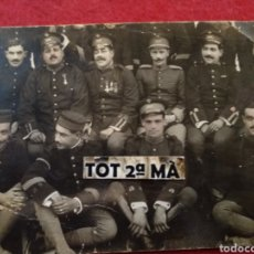 Militaria: ANTIGUA FOTOGRAFÍA POSTAL MILITAR.. Lote 177463090