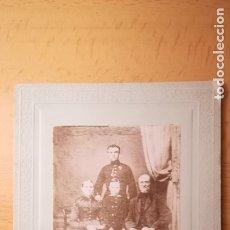 Militaria: FOTOGRAFIA MILITAR ALEMAN FINALES SIGLO XIX. Lote 177497533