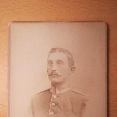 Militaria: FOTOGRAFIA MILITAR ALEMAN , AÑO 1893. Lote 177498648
