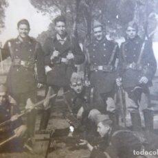 Militaria: FOTOGRAFÍA SOLDADOS INFANTERÍA DE MARINA. CARTAGENA. Lote 177679133
