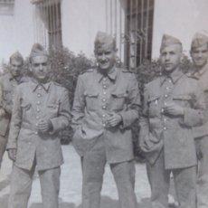 Militaria: FOTOGRAFÍA SOLDADOS INFANTERÍA DE MARINA. CARTAGENA 1947. Lote 177679643