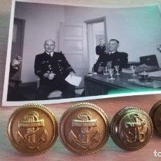 Militaria: LOTE DE FOTOGRAFIA Y BOTONES DE LA ARMADA ALEMANA KRIEGSMARINE, EPOCA 2ª GUERRA MUNDIAL. Lote 177722674