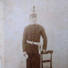 Militaria: F-4239. FOTOGRAFIA OFICIAL EJÉRCITO ESPAÑOL. CIRCA 1870. ALBÚMINA.. Lote 177725107