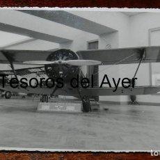 Militaria: FOTOGRAFIA DE AVION DE CAZA RUSO F-15 CHATO, COGIDO EN ALCAÑIZ, FOTO CAMPUS, EXPOSICION AVIONES ROJO. Lote 177766102