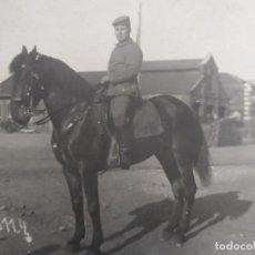 Militaria: SOLDADO IMPERIALE ALEMANE CON GEWEHR 98 A CABALLO . II REICH. Lote 177884429