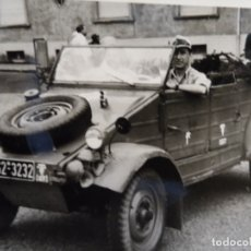 Militaria: SOLDADO WEHRMACHT EN KUBELWAGWEN . REG. ART. PANZ. DIV. AFRIKA KORPS.TRIPOLI. AÑOS1939-45. Lote 177940033