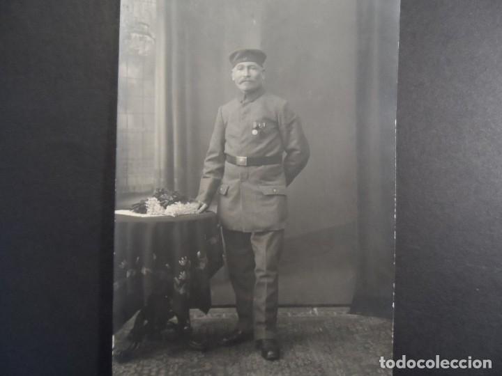 SOLDADO IMPERIALE ALEMAN CONDECORADIONES ESTADOS ALEMANES. II REICH. AÑOS 1914-18 (Militar - Fotografía Militar - I Guerra Mundial)