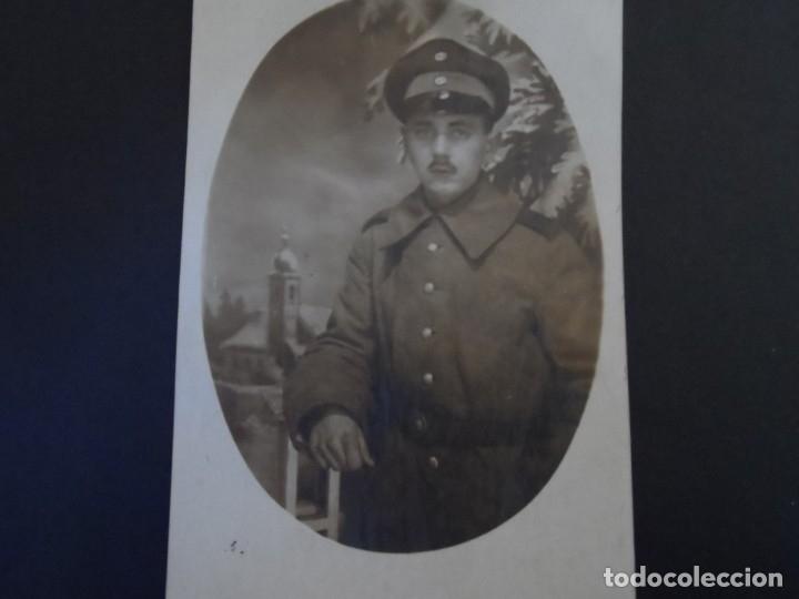 SOLDADO IMPERIAL ALEMAN FOTO DE ESTUDIO. II REICH. AÑOS 1914-18 (Militar - Fotografía Militar - I Guerra Mundial)