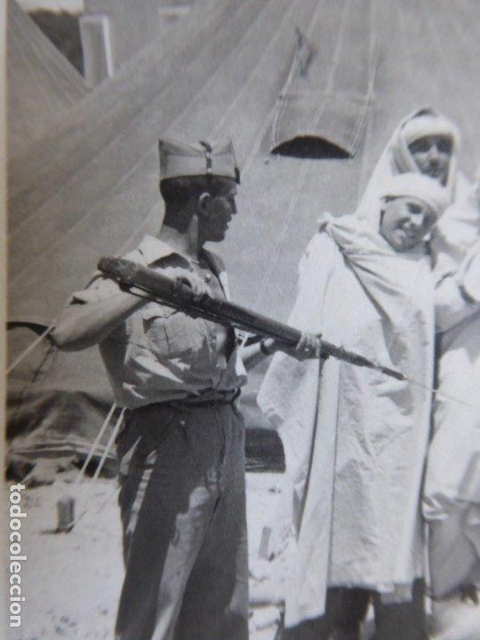 Militaria: Fotografía legionario. Melilla - Foto 3 - 177954042
