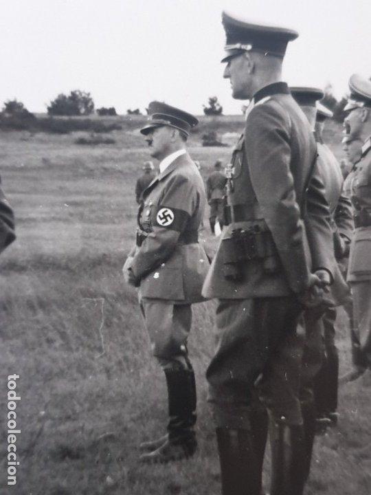 FOTO HITLER EN EL FRENTE (Militar - Fotografía Militar - II Guerra Mundial)