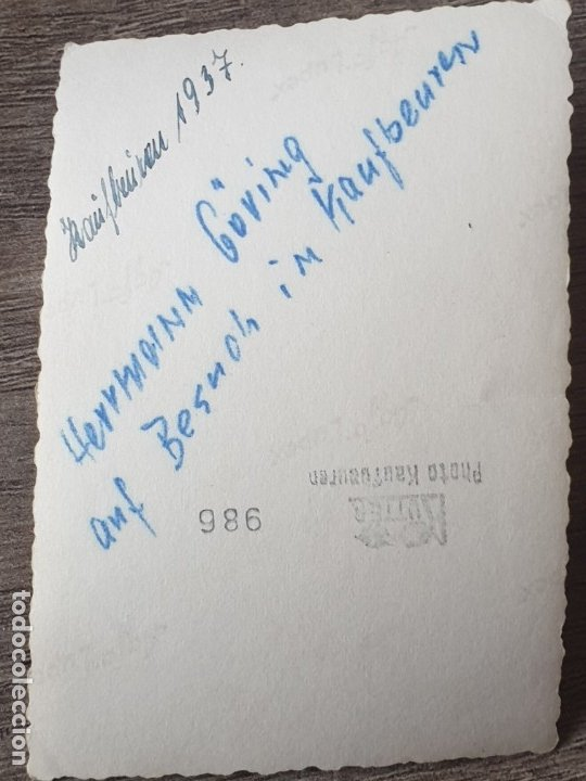 Militaria: Fotografia de Hermann Göring - Foto 3 - 178021792