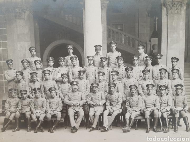 Militaria: ACADEMIA DE INFANTERÍA DE TOLEDO. CURSO DE 1916- 1917. - Foto 2 - 178052315