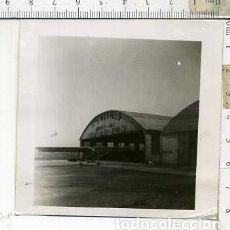 Militaria: FOTOGRAFIA DE UNA AVION PIPER CUB JULIO DE 1946. Lote 178056587