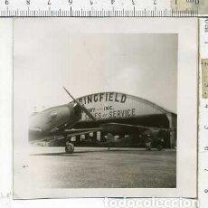 Militaria: FOTOGRAFIA DE UNA AVION FAIRCHILD PT-19 FABRICADO POR AERONICA. Lote 178056903