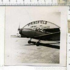 Militaria: FOTOGRAFIA DE UNA AVION FAIRCHILD PT-19 FABRICADO POR AERONICA JULIO 1946. Lote 178056980