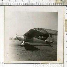 Militaria: FOTOGRAFIA DE UNA AVION FABRICADO POR AERONICA JULIO 1946. Lote 178057335