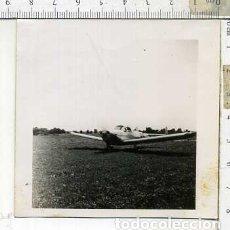 Militaria: FOTOGRAFIA DE UNA AVION COMPAÑIA AEROCOMP JULIO 1946. Lote 178057494