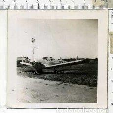 Militaria: FOTOGRAFIA DE UNA AVION COMPAÑIA AEROCOMP JULIO 1946. Lote 178057558