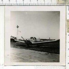 Militaria: FOTOGRAFIA DE UNA AVION COMPAÑIA AEROCOMP JULIO 1946. Lote 178057862