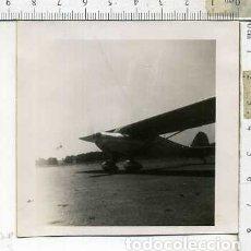 Militaria: FOTOGRAFIA DE UNA AVION COMPAÑIA AERONICA JULIO 1946. Lote 178057919