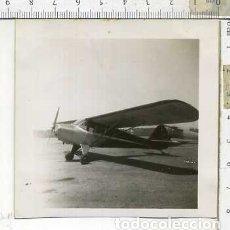 Militaria: FOTOGRAFIA DE UNA AVION COMPAÑIA AERONICA JULIO 1946. Lote 178057954