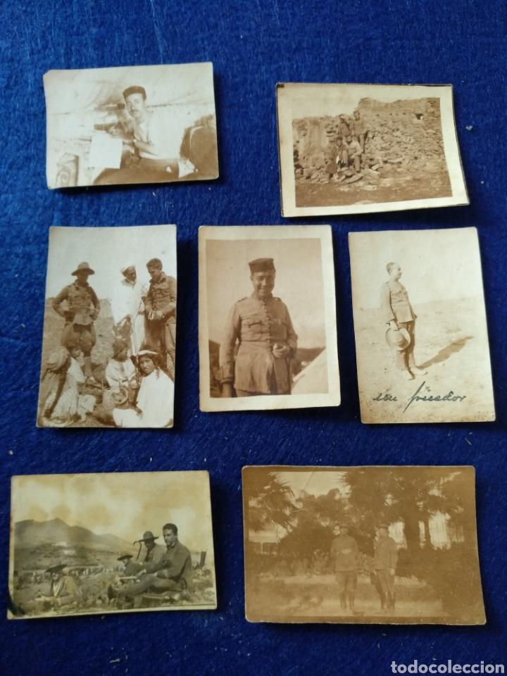 LOTE DE 7 FOTOGRAFÍAS MILITARES (Militar - Fotografía Militar - Otros)